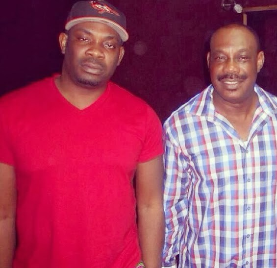 Don Jazzy and dad