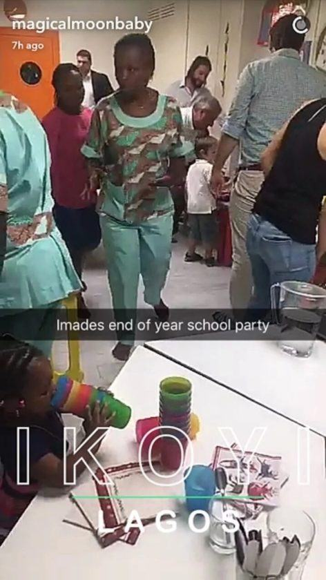 Imade's end of year school party