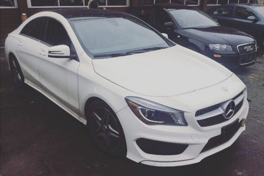 Kiss Daniel Flaunts His Expensive 2016 Mercedes Benz CLA