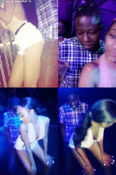 Ice Prince's Girlfriend Pictured Giving Lapdance to Unknown Man in The Club