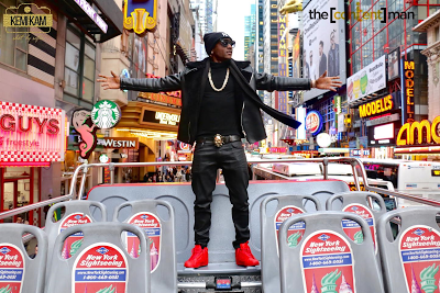 Terry G shares New York pics