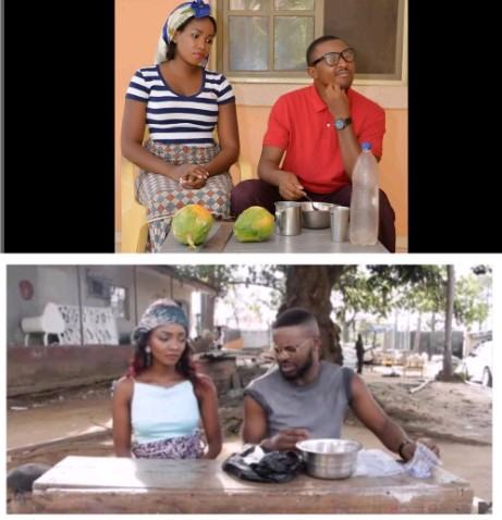 Nigerian couple recreate Simi and Falz' photos