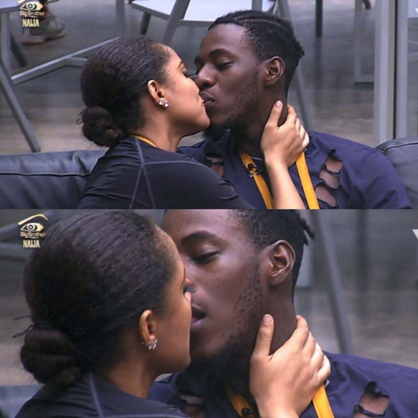 Gifty and Soma Share A Passionate Kiss