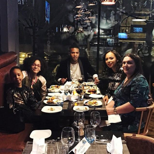 Photos of Tboss and her family