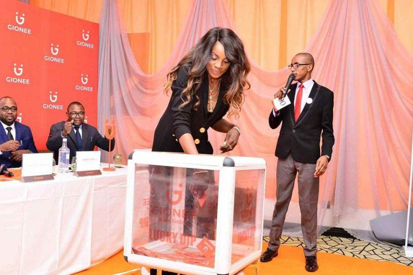 Seyi Shay and Gionee deal