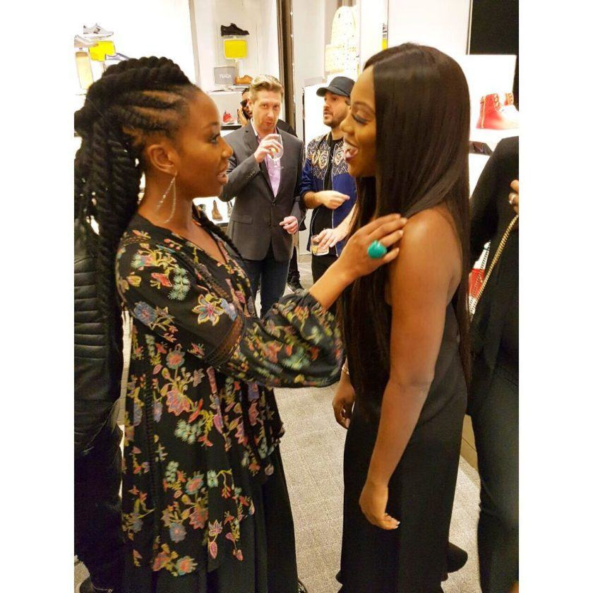 Tiwa savage spotted with Brandy