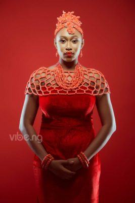 Cynthia Morgan covers Vibe.ng