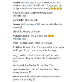 Ese called out over her age