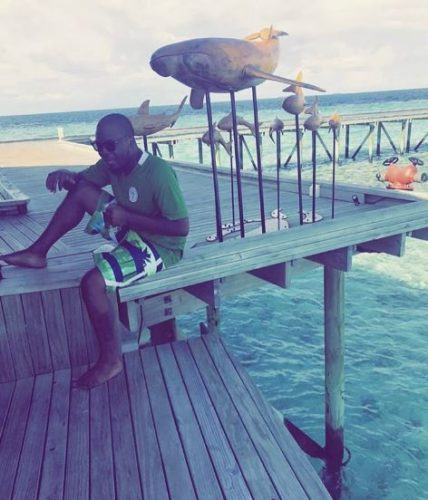 Olamide in Maldives