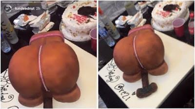 See the shocking birthday cake Orezi received from a fan