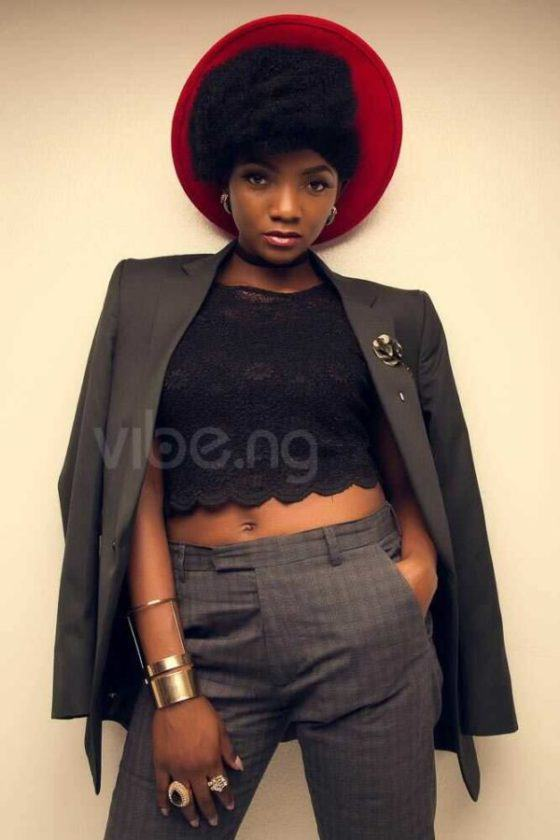 Simi stuns on the January cover of vibe magazine