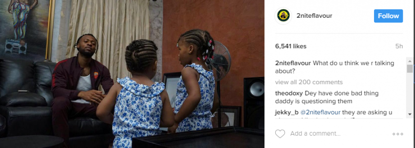 flavour post about Gabriella and Sophia