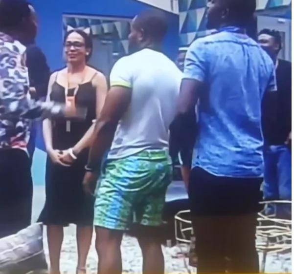 tboss stare at AY