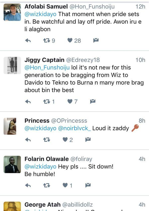 """Nobody Can Equal Me"" - Wizkid Brags"