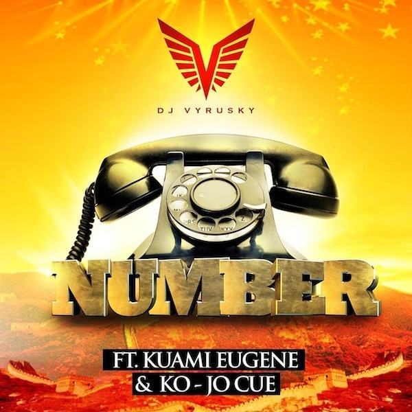 DJ Vyrusky - Number ft Kuami Eugene & Kojo Cue [AuDio]