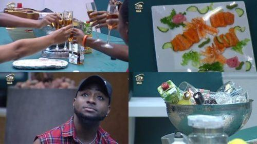 Davido Pays A Visit To Big Brother House