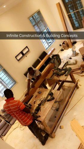 Davido Shows Off The Progress Of His House Renovation