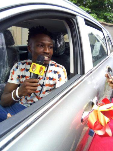 Efe Receives His Brand New SUV