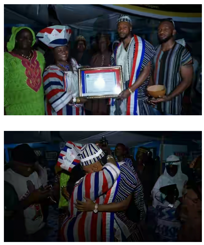 Flavour is conferred chieftaincy in Liberia