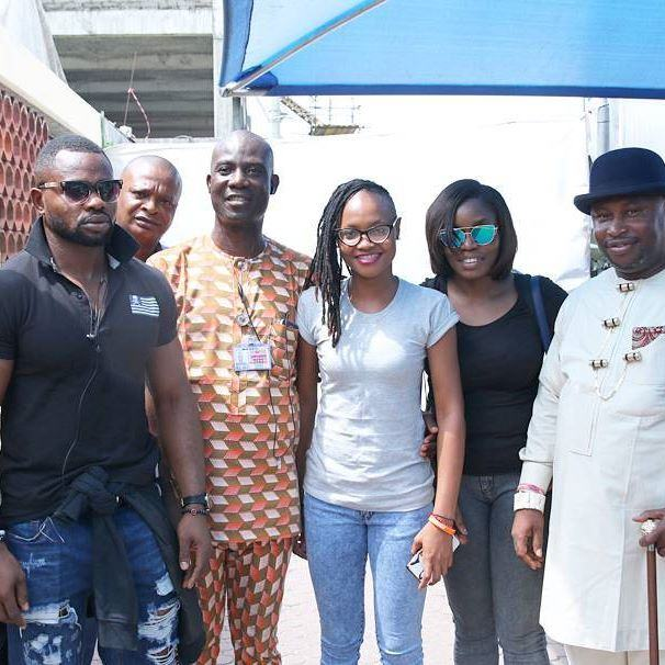 Marvis arrives Rivers with a royal welcome alongside Bisola and Kemen