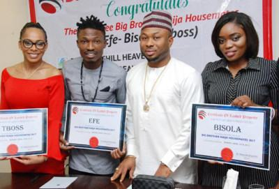 Olakunle Churchill, TBoss, Bisola & Efe