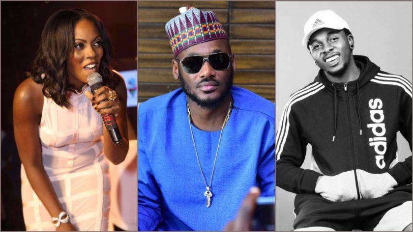Tiwa Savage, 2Face and Runtown
