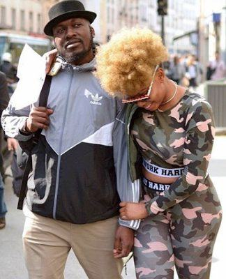 Yemi Alade & Her Manager Taiye Aliyu Get Cuddly & Romantic In Paris