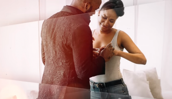 Banky & AdeSua Engagement pic