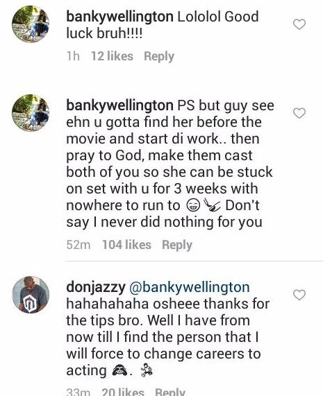 Banky W advise to Don Jazzy