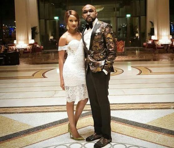 Banky W and Adesua Etomi step out for dinner