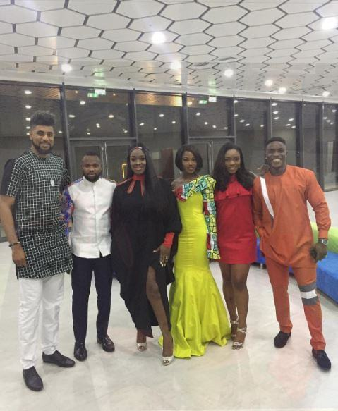 Bisola, ThinTallTony, Bassey, Debie-Rise, Kemen and Uriel