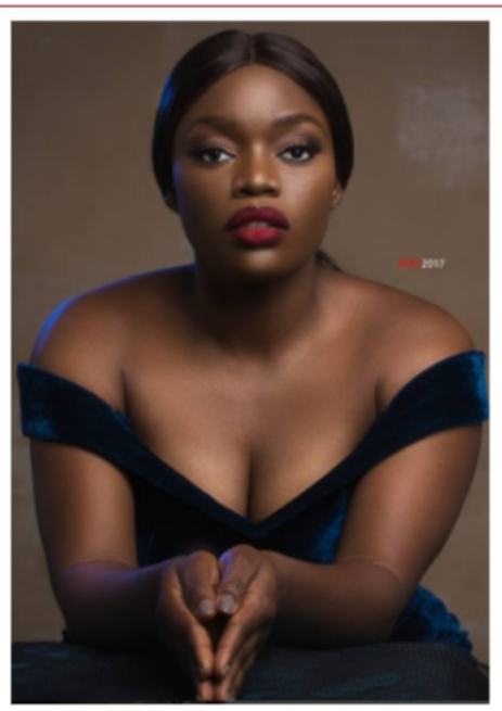 Bisola flaunts her cleavage in new photos