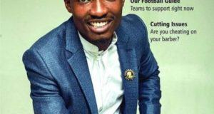 Efe Covers Latest Issue Of The Guardian Life Magazine