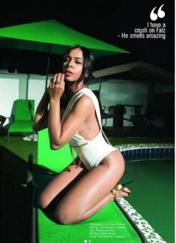 TBoss Looks Hot As She Flaunts Curvaceous Bod In Swimsuit
