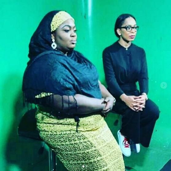 TBoss and Eniola Badmus