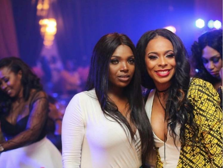 Tboss and Annie Idibia