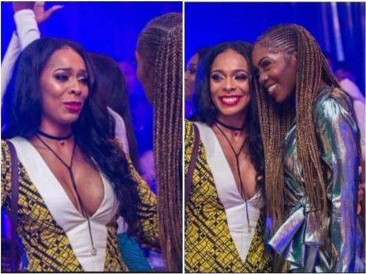 Tboss and Tiwa Savage