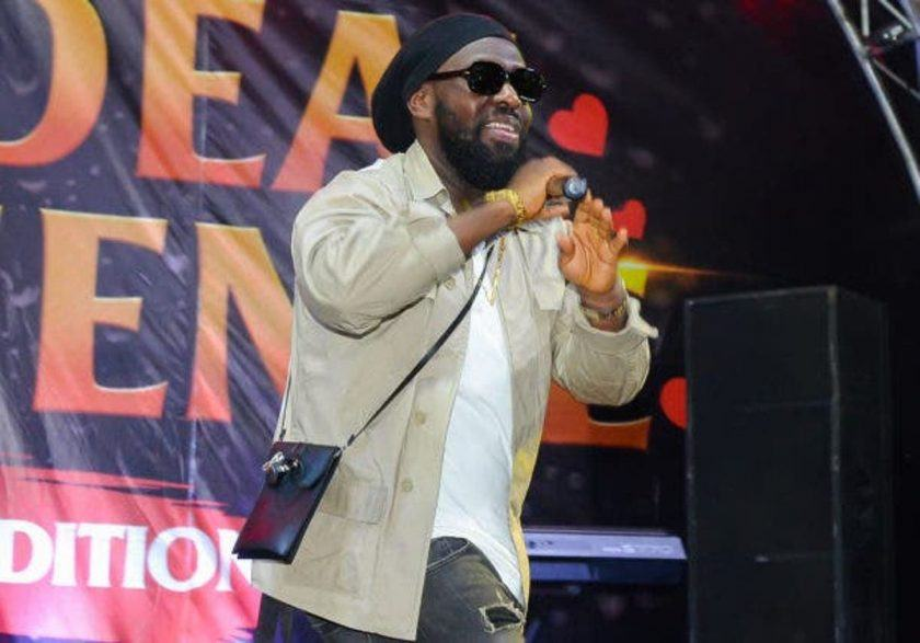 Timaya on stage