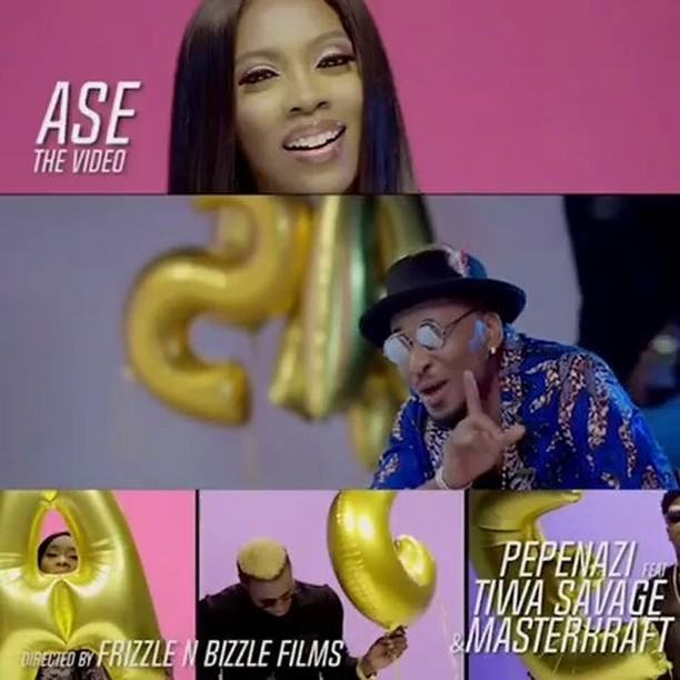 Pepenazi - Ase ft Tiwa Savage & Masterkraft [ViDeo]