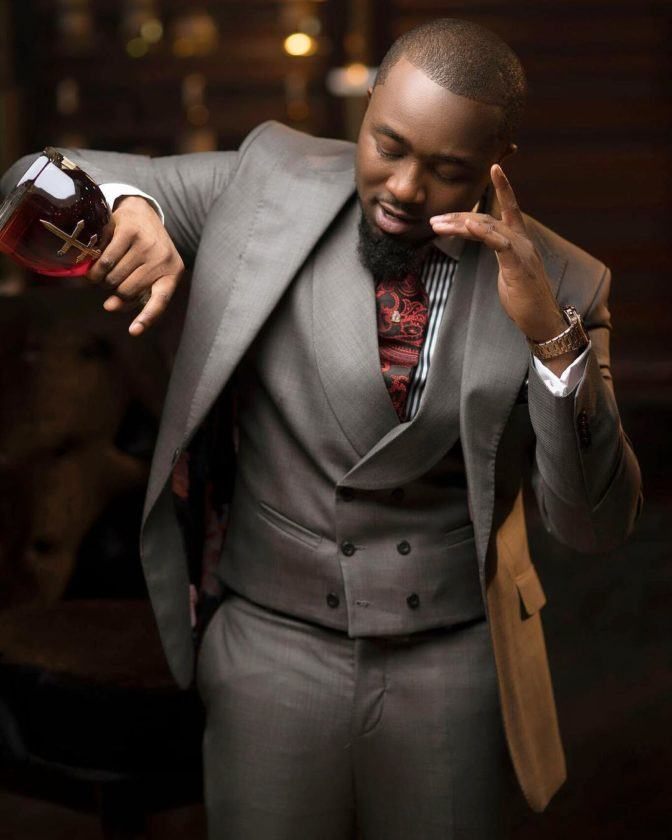 Rapper Ice Prince looking dapper