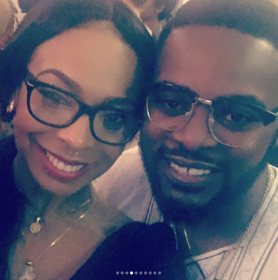 EX BBN housemate, Tboss pictured with Bisola, Omotola, Stephanie Linus, Bovi, Iyanya and Falz at the US consulate