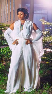 Waje stuns in New Grecian inspired photo
