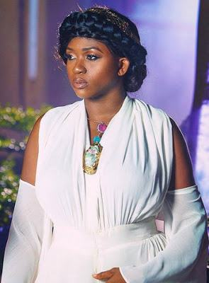 Waje stuns in New Grecian inspired photoshoot