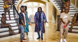 Wale Shoots Video For 'Fine Girl' Featuring Davido And Olamide