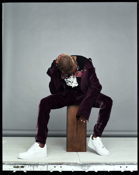 Wizkid covers Hunger Mag