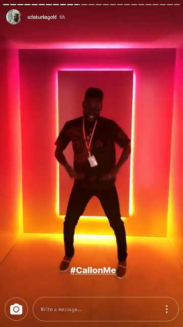 Adekunle Gold visit Facebook HQ in California