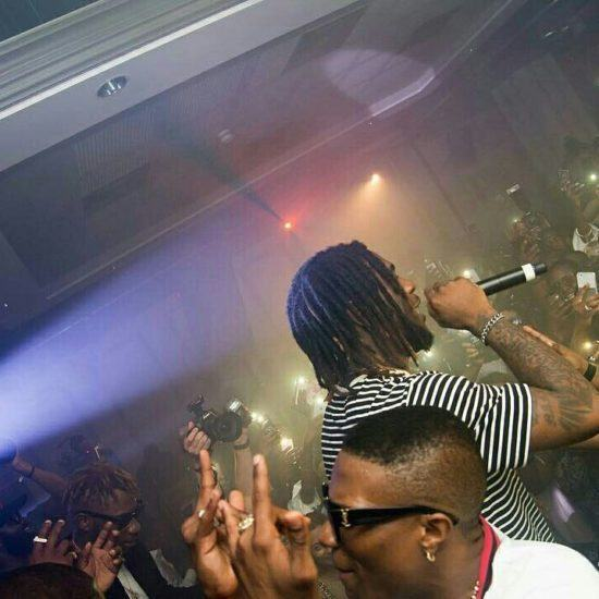 Wizkid Throws Free Surprise Party For Fans In London