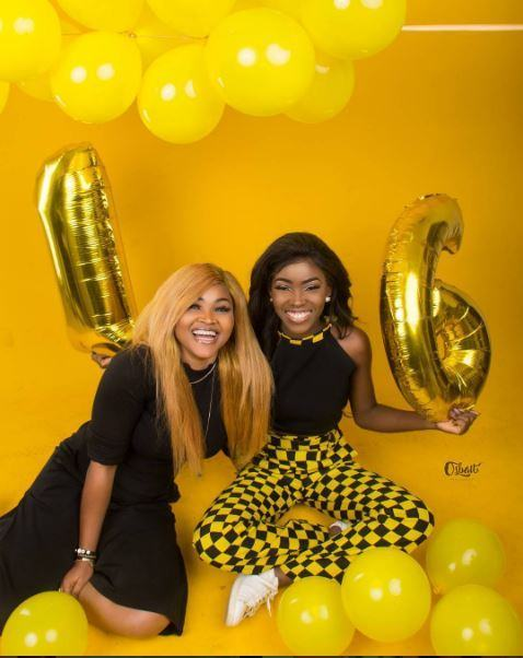 Mercy Aigbe's Daughter Celebrates 16th Birthday