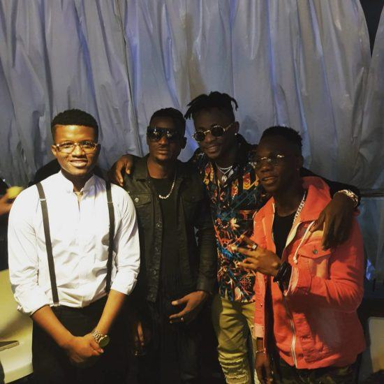 Ubi Franklin Signs 3 New Artistes to Made Men Music Group