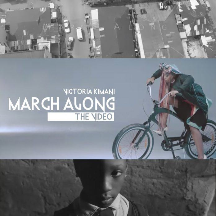 Victoria Kimani - March Along [ViDeo]